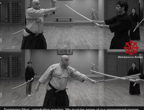 武道の間合い