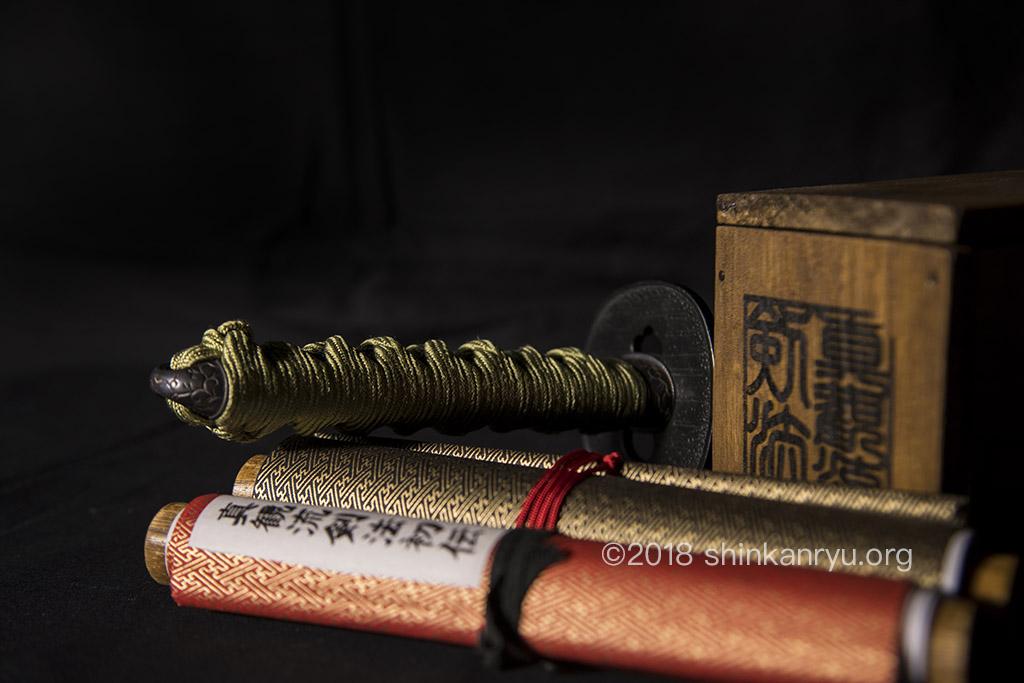 makimono scrolls of kenjutsu