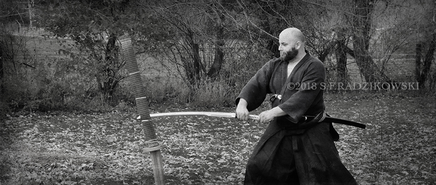 japanese sword thrust