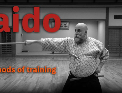 Iaido Methods of Training: Timing