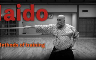 iaido sword timing lesson