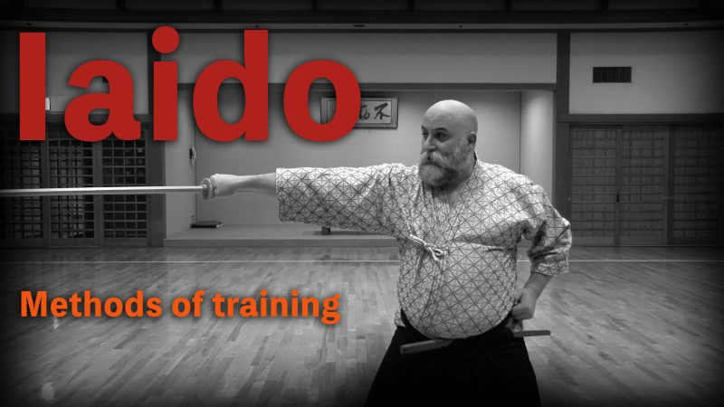 iaido sword timing lesson