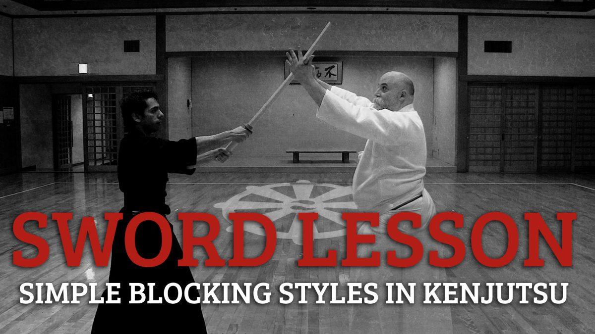 basic blocking kenjutsu