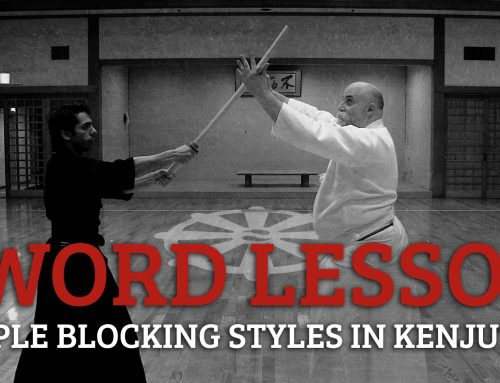 Kenjutsu Basics: How To Block