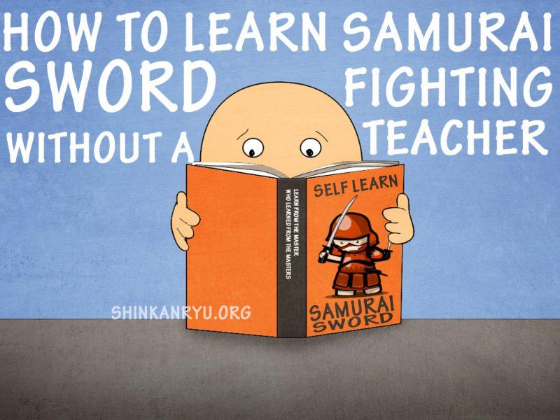 self learn samurai sword