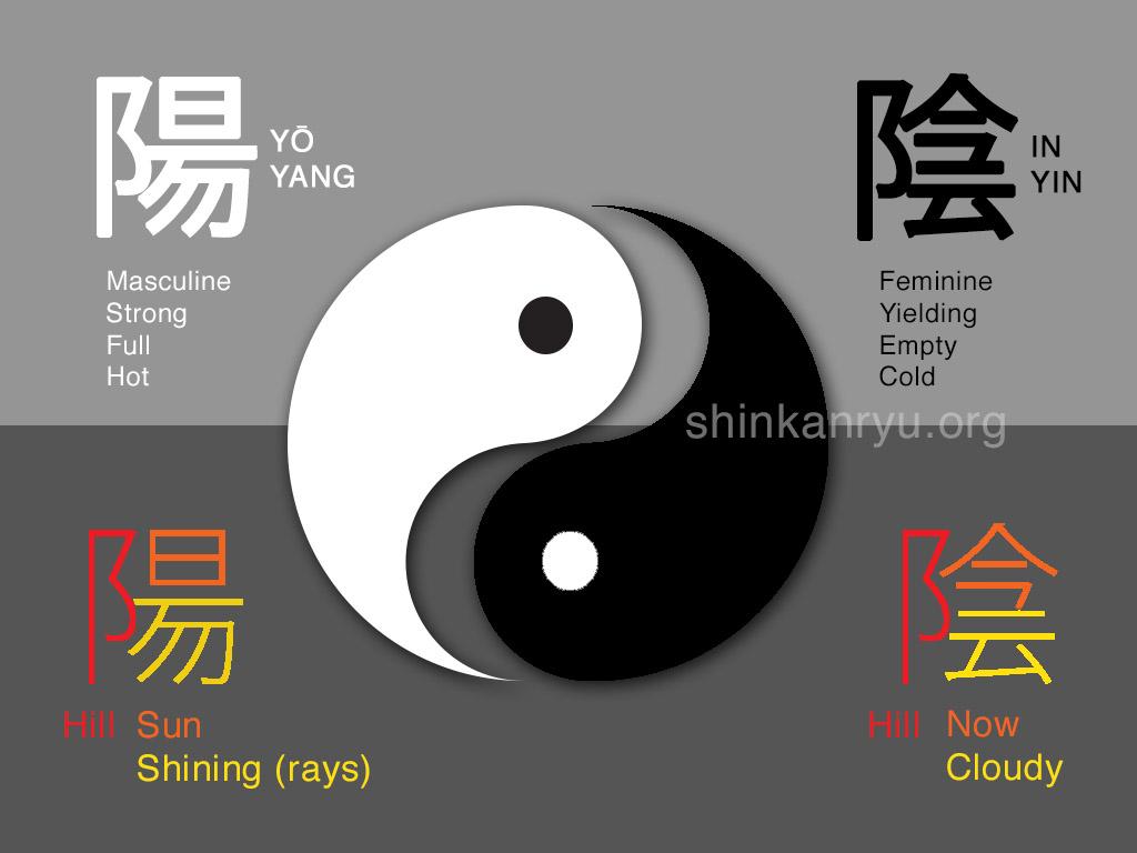 ying yang martial arts symbol
