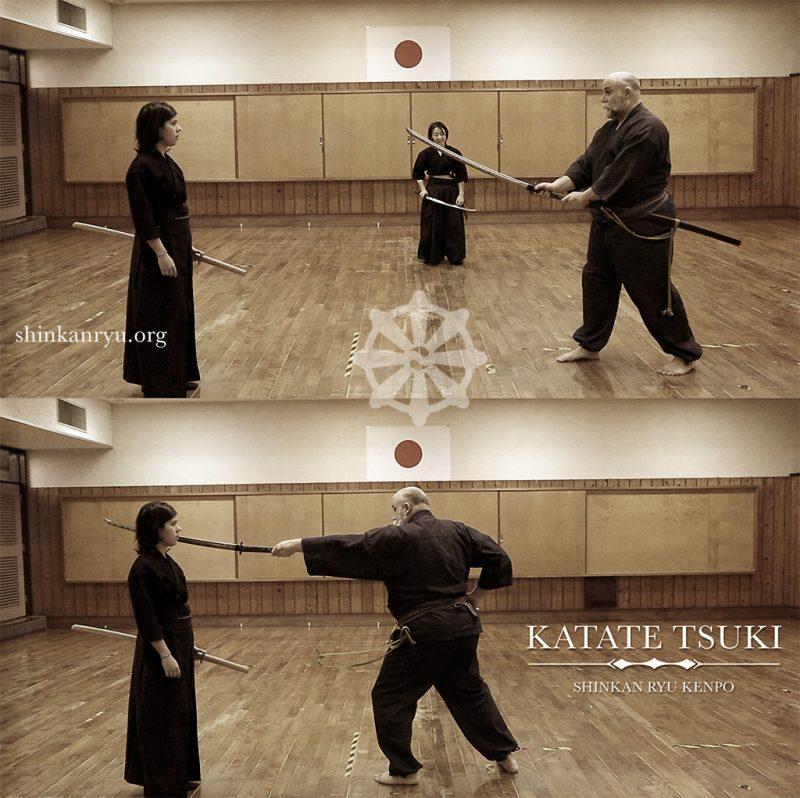 iaido thrust