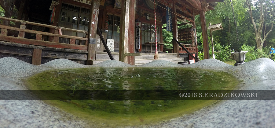 budo temple reflection