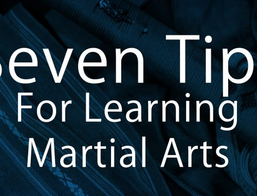 Seven Points For Learning Martial Arts