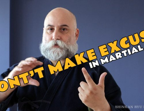 Making Excuses In Martial Arts