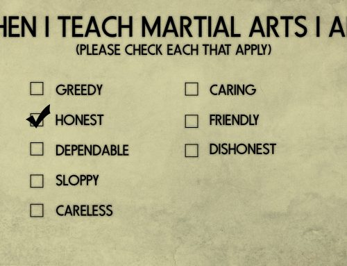 Honesty and the Martial Arts Hermit. Being a good budō teacher and student.