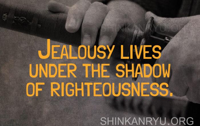 martial arts jealousy